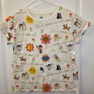 Disney It's a Small World Shirt, brand new